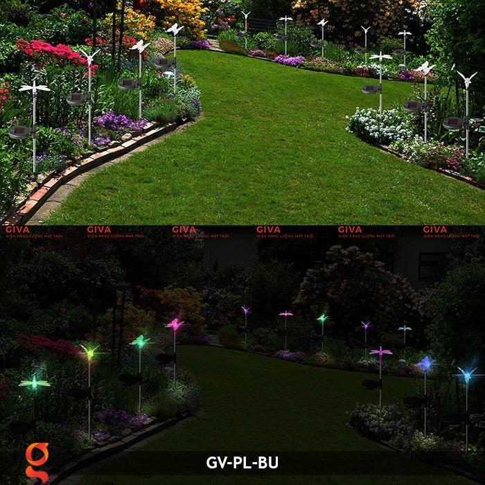 Đèn cắm đất trang trí hình con vật NLMT GV-PL-BU 18