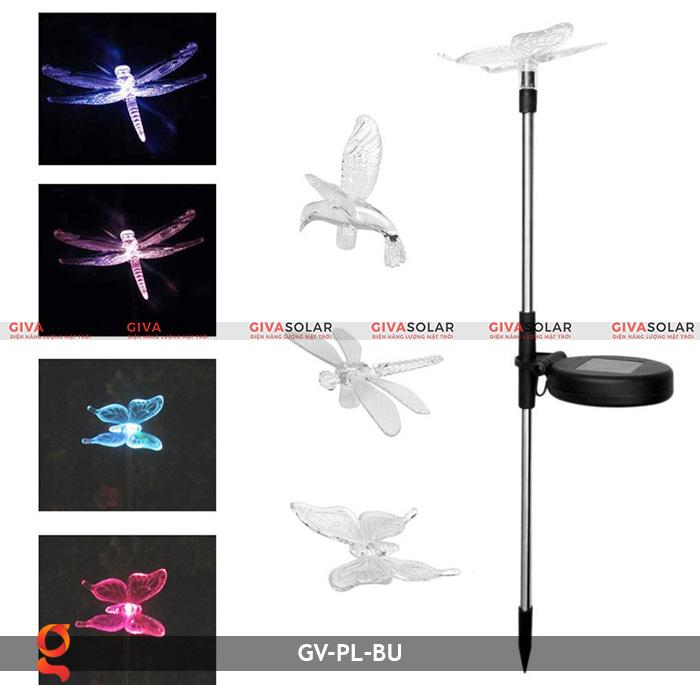 Đèn cắm đất trang trí hình con vật NLMT GV-PL-BU 2