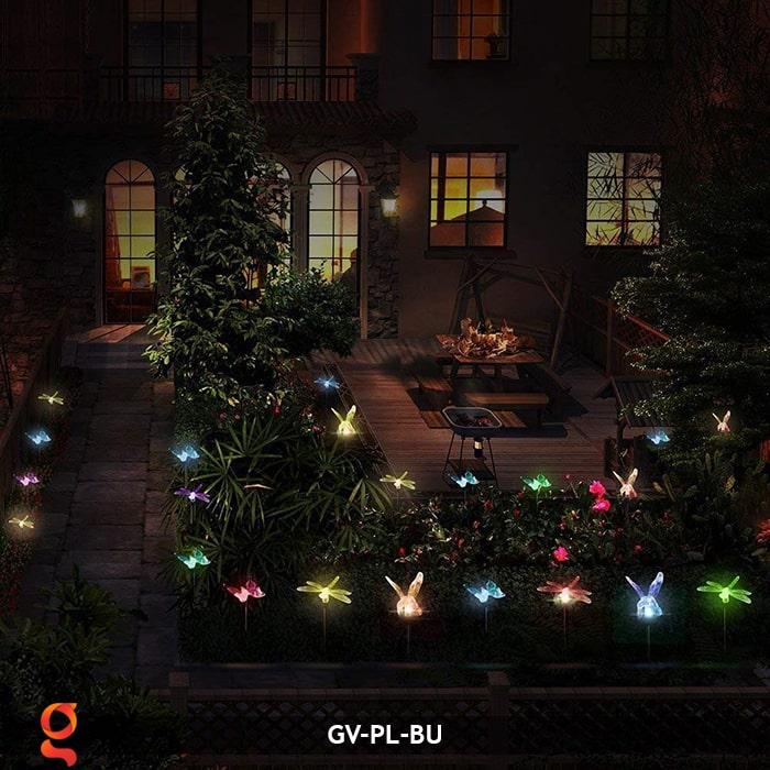 Đèn cắm đất trang trí hình con vật NLMT GV-PL-BU 20