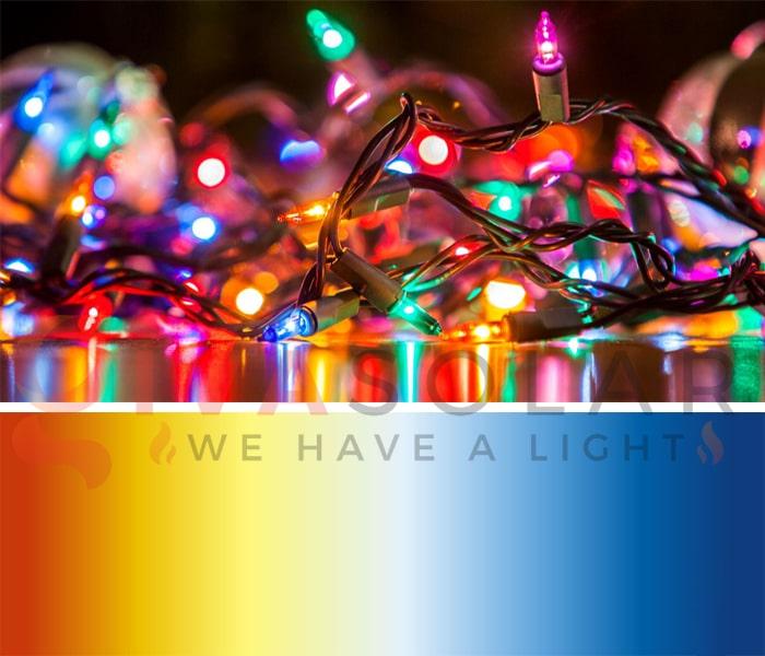 Đèn LED trang trí Noel và đèn truyền thống- Loại nào tốt? 2