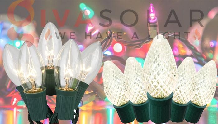 Đèn LED trang trí Noel và đèn truyền thống- Loại nào tốt? 8