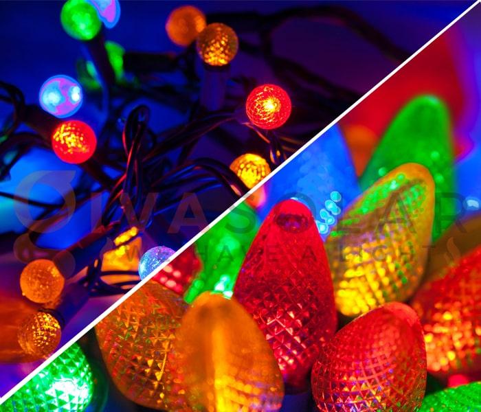 Đèn LED trang trí Noel và đèn truyền thống- Loại nào tốt?