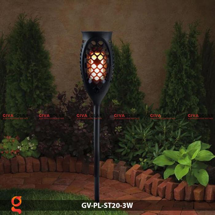 Đèn ngọn lửa năng lượng mặt trời GV-PL-ST20-3W 13