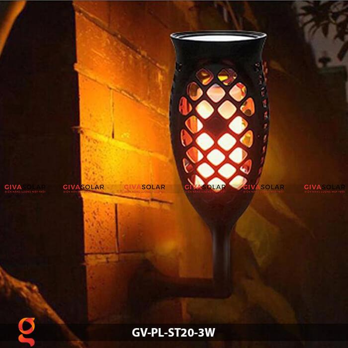 Đèn ngọn lửa năng lượng mặt trời GV-PL-ST20-3W 14
