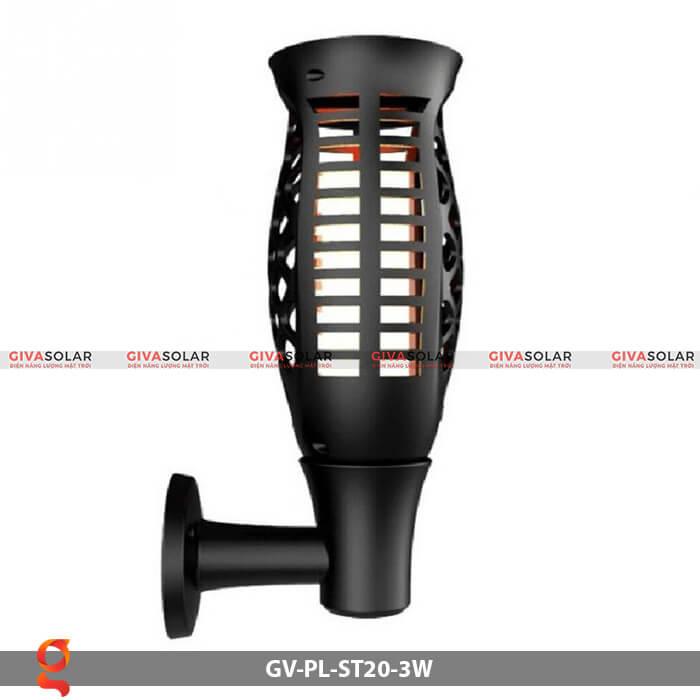 Đèn ngọn lửa năng lượng mặt trời GV-PL-ST20-3W 6
