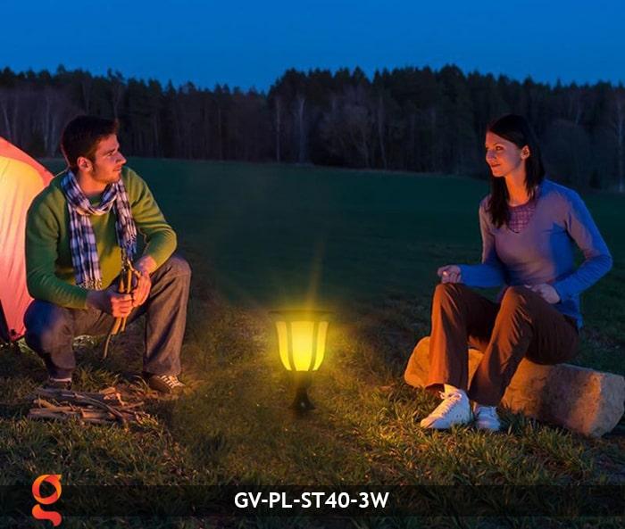 Đèn ngọn lửa năng lượng mặt trời 3 trong 1 GV-ST40-3W 17