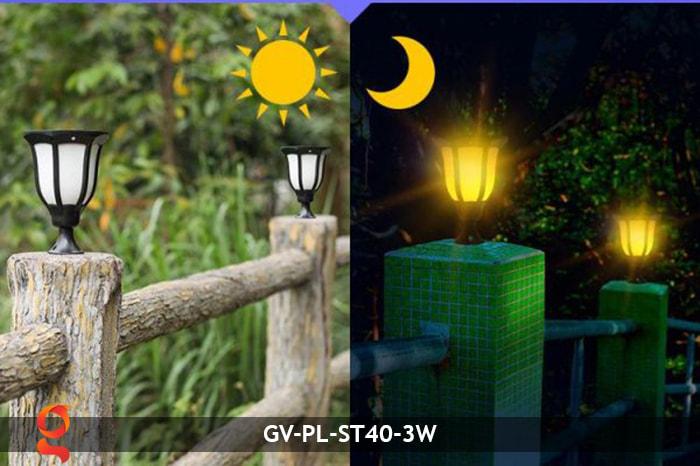 Đèn ngọn lửa năng lượng mặt trời 3 trong 1 GV-ST40-3W 8