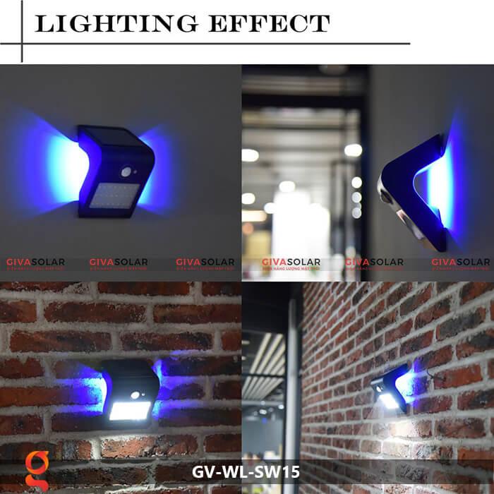 Đèn năng lượng mặt trời ốp tường GV-WL-SW15 10
