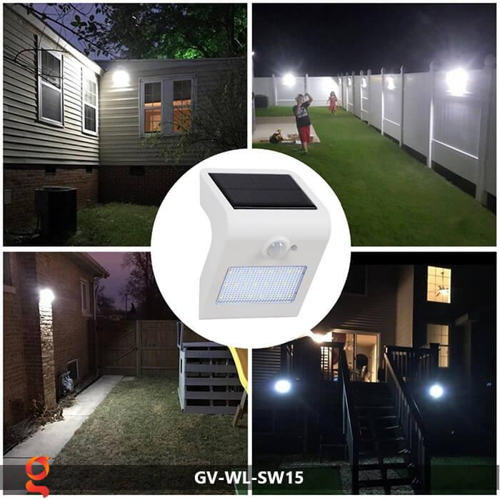 Đèn năng lượng mặt trời ốp tường GV-WL-SW15 11
