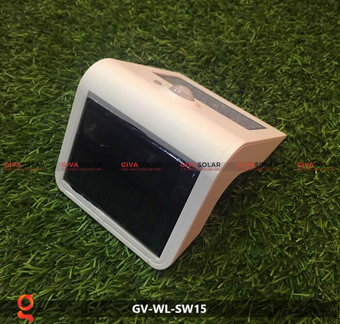 Đèn năng lượng mặt trời ốp tường GV-WL-SW15 15