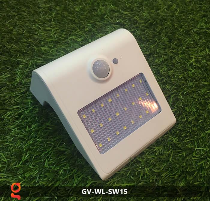 Đèn năng lượng mặt trời ốp tường GV-WL-SW15 16