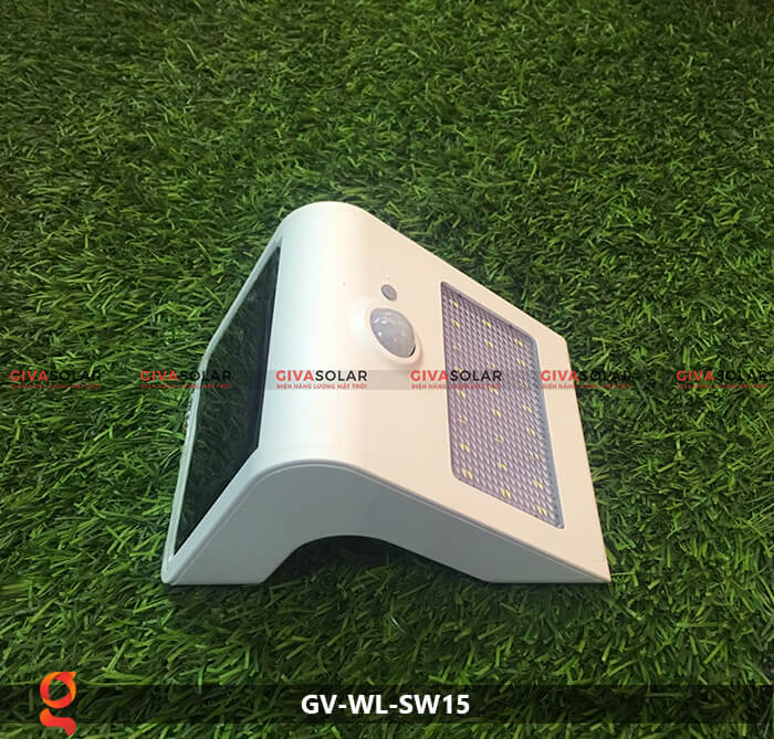 Đèn năng lượng mặt trời ốp tường GV-WL-SW15 17