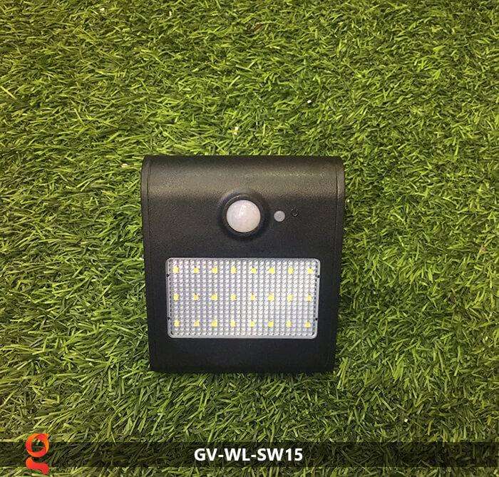Đèn năng lượng mặt trời ốp tường GV-WL-SW15 18