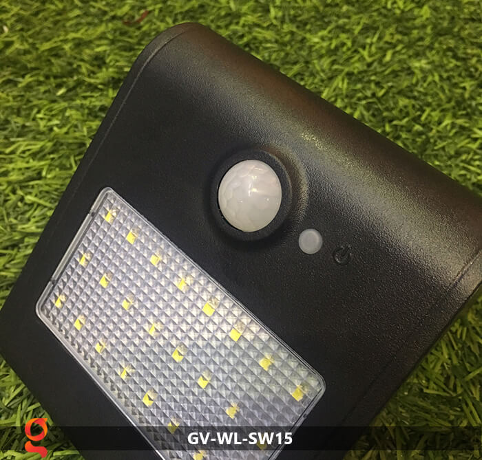 Đèn năng lượng mặt trời ốp tường GV-WL-SW15 20