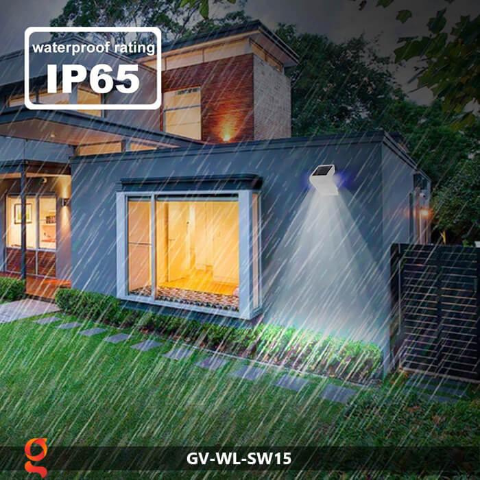 Đèn năng lượng mặt trời ốp tường GV-WL-SW15 7