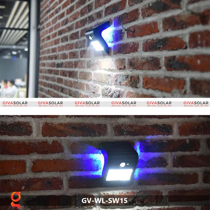Đèn năng lượng mặt trời ốp tường GV-WL-SW15 9