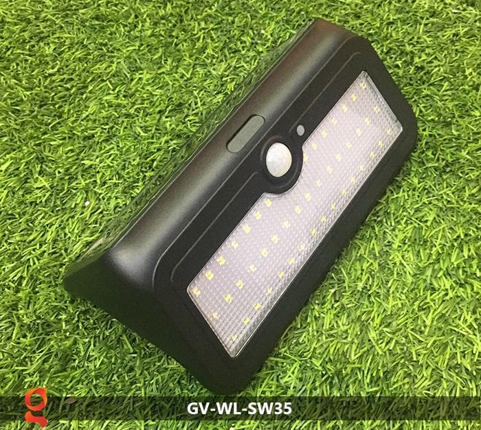 Đèn led năng lượng mặt trời ốp tường GV-WL-SW35 1