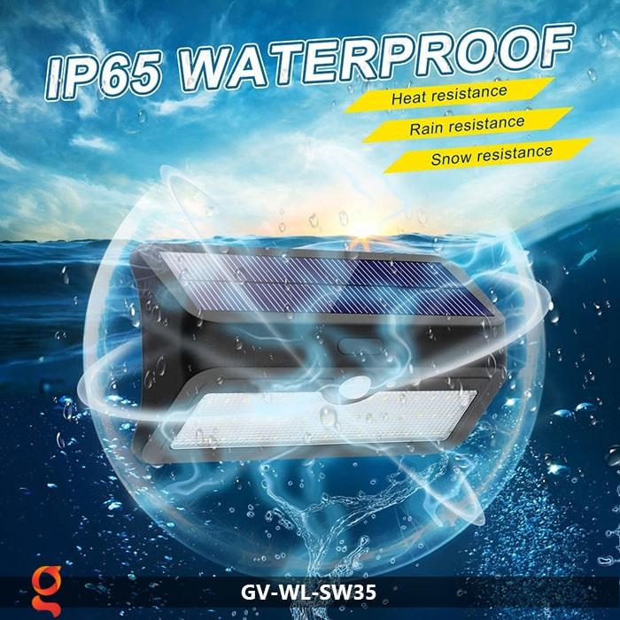 Đèn led năng lượng mặt trời ốp tường GV-WL-SW35 10