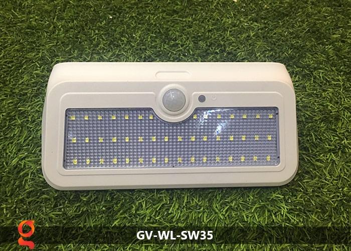 Đèn led năng lượng mặt trời ốp tường GV-WL-SW35 16