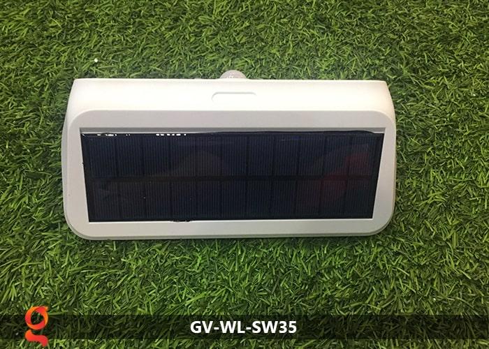 Đèn led năng lượng mặt trời ốp tường GV-WL-SW35 18