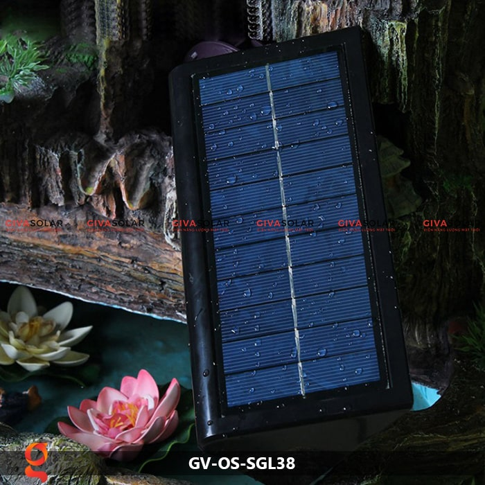 Đèn ốp tường năng lượng mặt trời GV-OS-SGL38 12