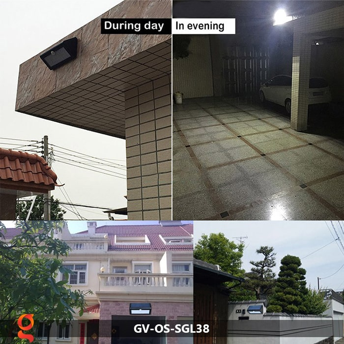 Đèn ốp tường năng lượng mặt trời GV-OS-SGL38 15