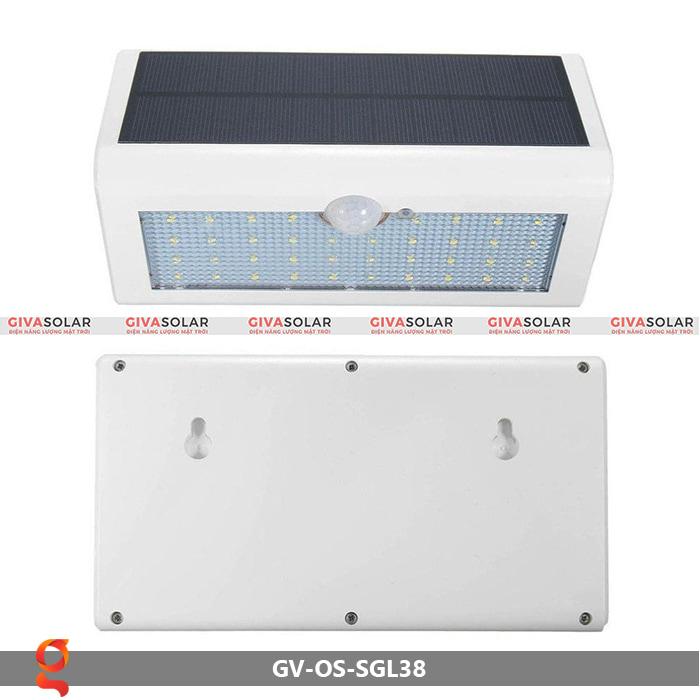 Đèn ốp tường năng lượng mặt trời GV-OS-SGL38 9