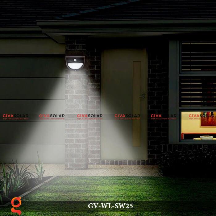 Đèn ốp tường năng lượng mặt trời có cảm ứng GV-WL-SW25 14