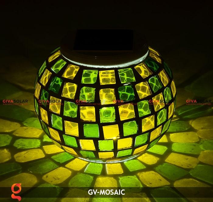 Đèn quả cầu chiếu sáng năng lượng mặt trời GV-MOSAIC 2