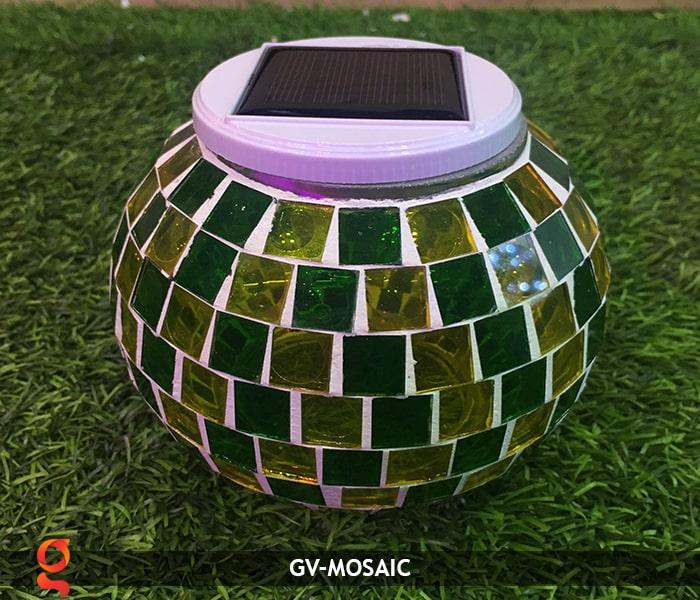 Đèn quả cầu chiếu sáng năng lượng mặt trời GV-MOSAIC 4