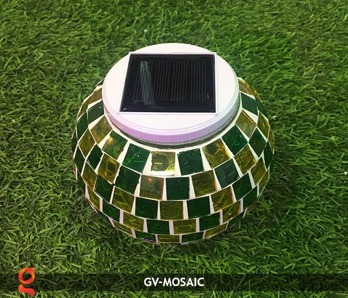 Đèn quả cầu chiếu sáng năng lượng mặt trời GV-MOSAIC 5