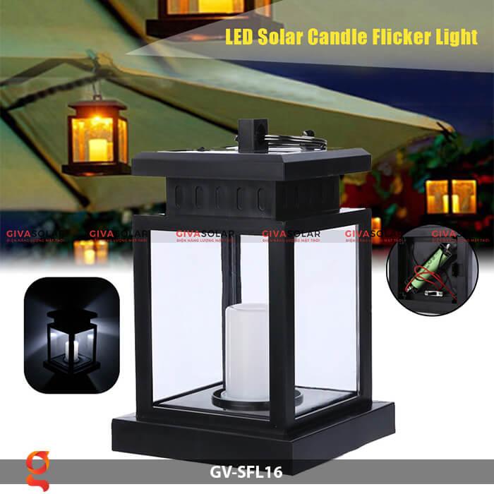Đèn lồng năng lượng mặt trời GV-SFL16 10