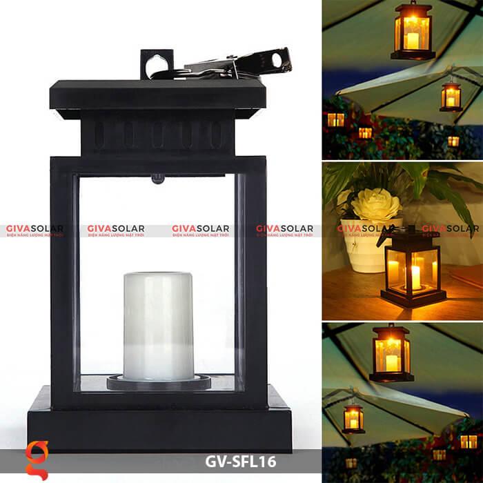 Đèn lồng năng lượng mặt trời GV-SFL16 8