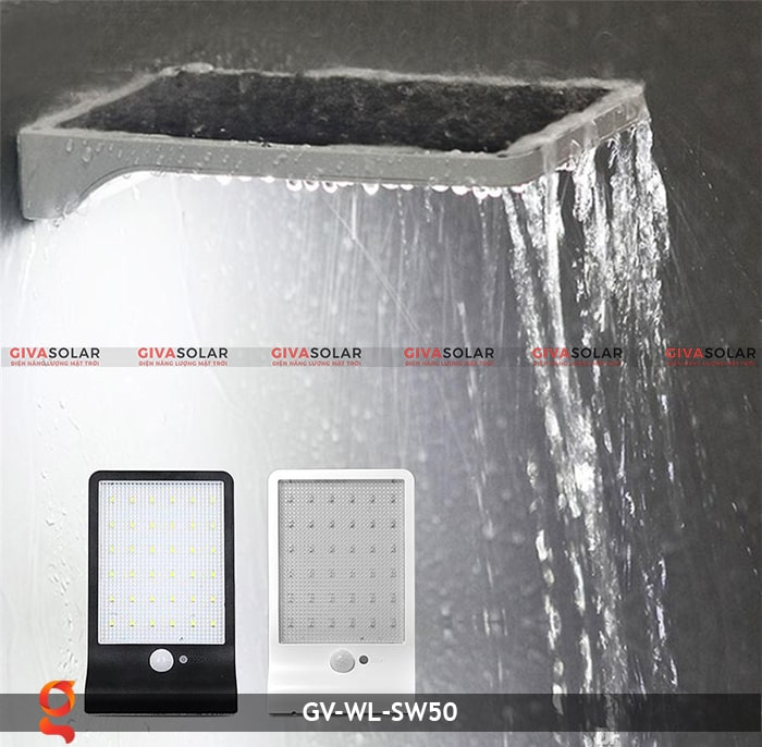 Đèn treo tường năng lượng mặt trời GV-WL-SW50 11
