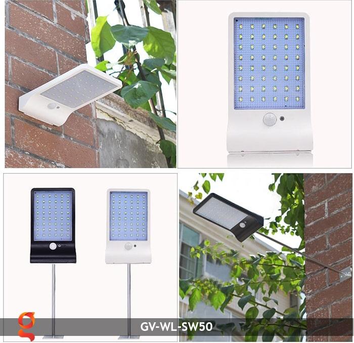 Đèn treo tường năng lượng mặt trời GV-WL-SW50 14