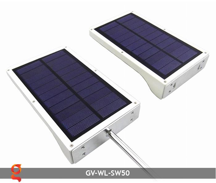 Đèn treo tường năng lượng mặt trời GV-WL-SW50 3
