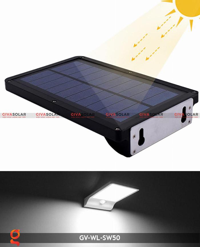 Đèn treo tường năng lượng mặt trời GV-WL-SW50 8