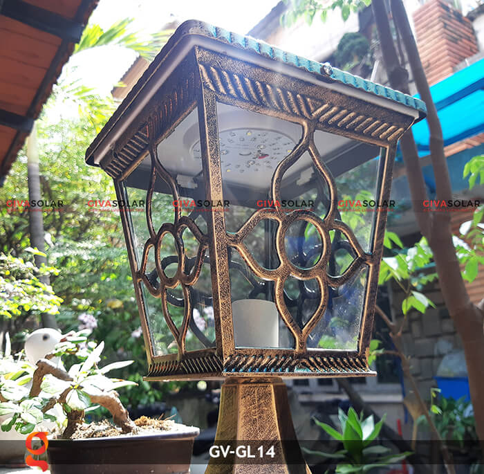 Đèn cổng năng lượng mặt trời GV-GL14 3