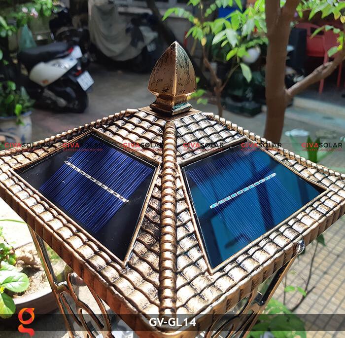 Đèn cổng năng lượng mặt trời GV-GL14 4