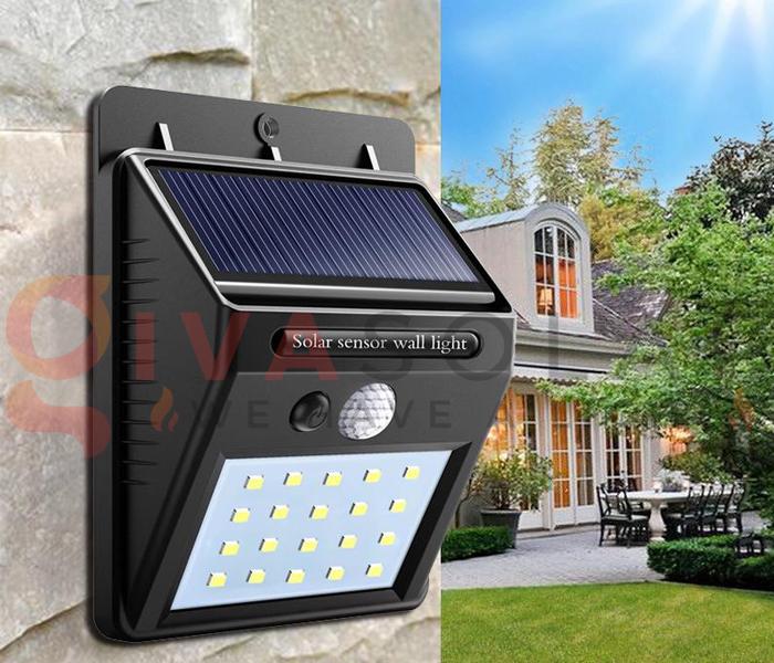 Hướng dẫn lắp đặt đèn treo tường năng lượng mặt trời 1