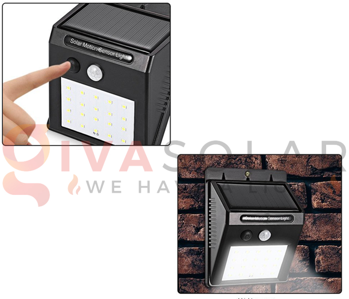 Hướng dẫn lắp đặt đèn treo tường năng lượng mặt trời 10