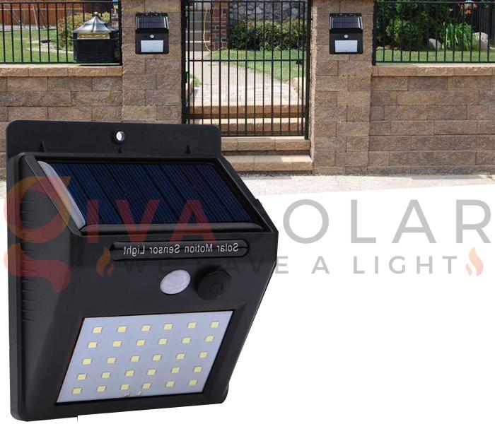 Hướng dẫn lắp đặt đèn treo tường năng lượng mặt trời 12