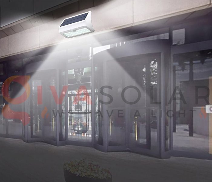 Hướng dẫn lắp đặt đèn treo tường năng lượng mặt trời 2
