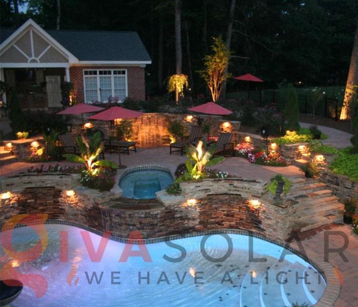 Hướng dẫn thiết kế ánh sáng cảnh quan sân vườn 10