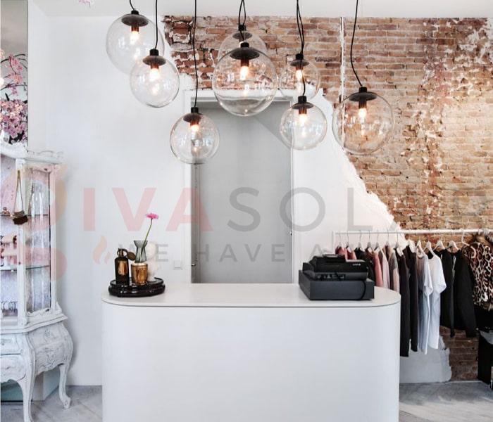 Hướng dẫn trang trí đèn cho shop thời trang 11