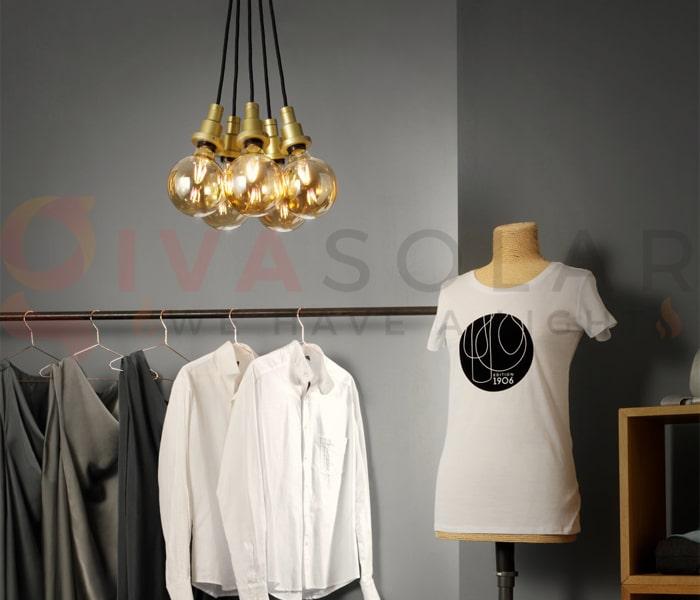 Hướng dẫn trang trí đèn cho shop thời trang 2