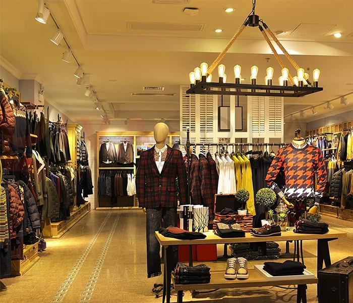 Hướng dẫn trang trí đèn cho shop thời trang 3
