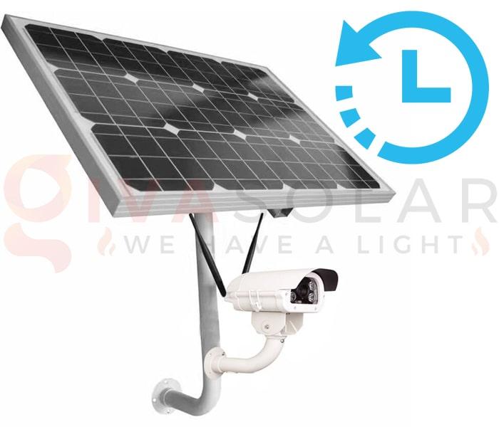 Kinh nghiệm sử dụng camera năng lượng mặt trời 8