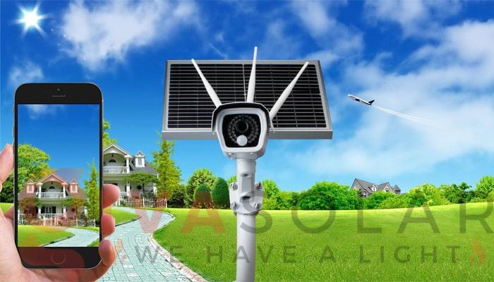 Kinh nghiệm sử dụng camera năng lượng mặt trời