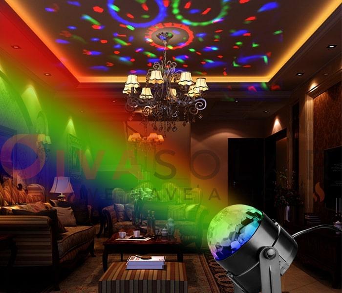 Kinh nghiệm sử dụng đèn trang trí phòng karaoke 2